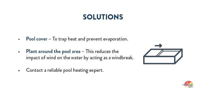 Pool heater efficiency solutions
