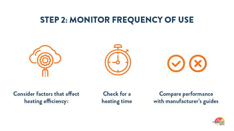 Pool heater efficiency step 2